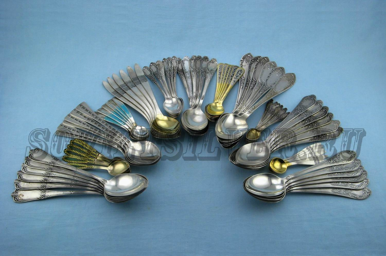 наборы серебряных ложек