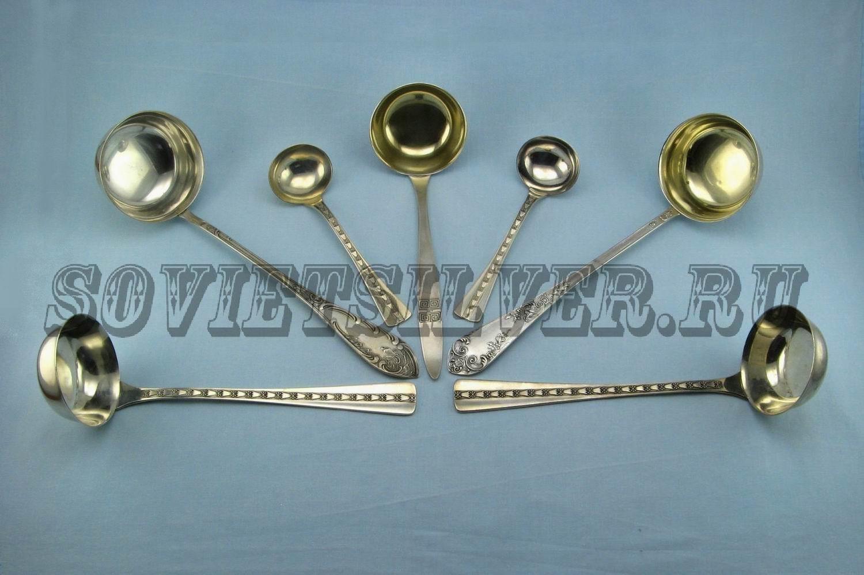 серебряные половники 2