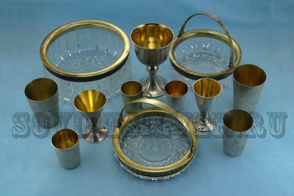 серебряная посуда 3