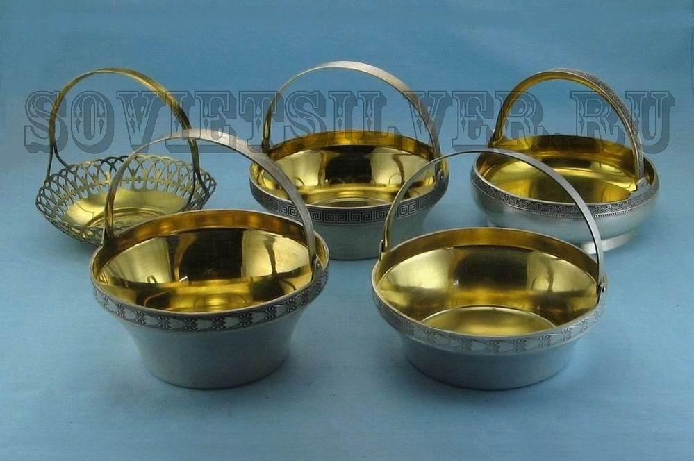 серебряная посуда 2