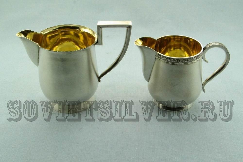 серебряные молочники, сливочники 2